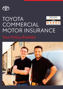 Toyota Commercial Motor Insurance Policy Booklet PDF