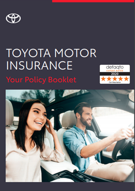 Toyota Private Car Motor Insurance Policy Booklet PDF